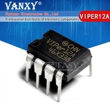 10PCS VIPER12A DIP8 VIPER12 12A DIP 8 DIP IC novo e original