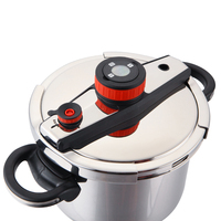 6L Magic High Cooking Pressure Cooker Safety Energy Saving Stainless Steel Induction Cooker Gas Stew Pot