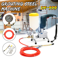epoxy injection pump Epoxy / Polyurethane foam Mini Portable Grouting Machine STEEL HOSE concrete repair crack New Arrival 2019