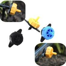Gotejador de pressão 2l 4l 8l, frete rápido, 100 peças, gotejador para flecha, sistema de gotejamento, emissor na linha, gotejador irrigação com