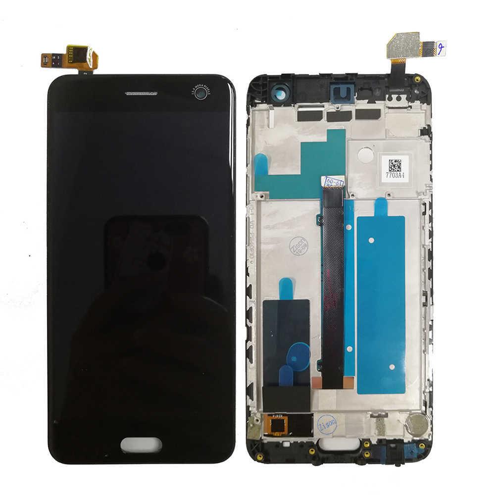 Image 2 - Полный ЖК дисплей для ZTE Blade V8 LCD BV0800 дисплей экран с рамкой сенсорный датчик дигитайзер сборка для ZTE V8 V 8 дисплей AAAqualityЭкраны для мобильных телефонов   -