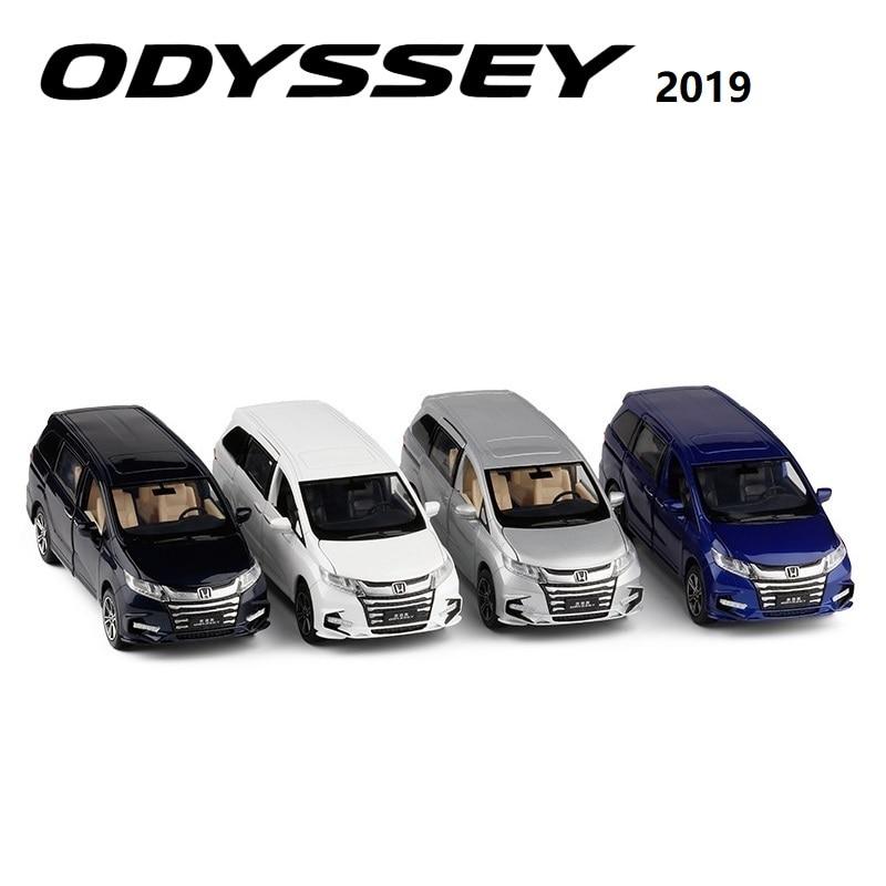 JackieKim 1:32 Honda Odyssey 2019 Sound & Light PullBack Diecast Model Car