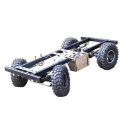 1:10 Модель шасси автомобиля, совместимая с двигателем серии Toyan FS (без двигателя и пульта дистанционного управления)