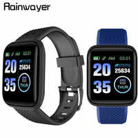 116 Plus Smart Watch Waterproof Blood Pressure Fitness Tracker Heart Rate Monitor Pedometer Smartwatch Bracelet Band D13
