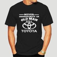 Toyota Never Underestimate An Old Man Mens T-Shirt-4045D