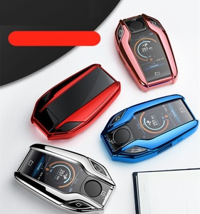 Image 5 - TPU Car Fully Key Case LED Display Key Cover Case for BMW 5 7 series G11 G12 G30 G31 G32 i8 I12 I15 G01 X3 G02 X4 G05 X5 G07 X7