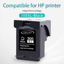 Topcolor 300XL сменный чернильный картридж для hp 300 XL hp 300 BK чернила для принтера hp DeskJet 1050 2000 2050se 3050ve 3000