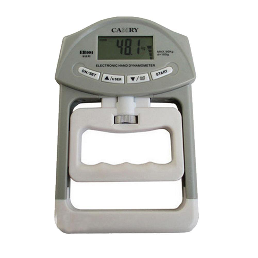 Измеритель силы с ручкой 198lb/90 кг Электронный цифровой ЖК-дисплей ручной динамометр измерительный прибор
