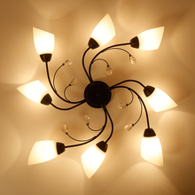 LED ceiling lights Nordic modern for Living room bedroom study Creative simplicity ceiling lighting American cozy art hall light