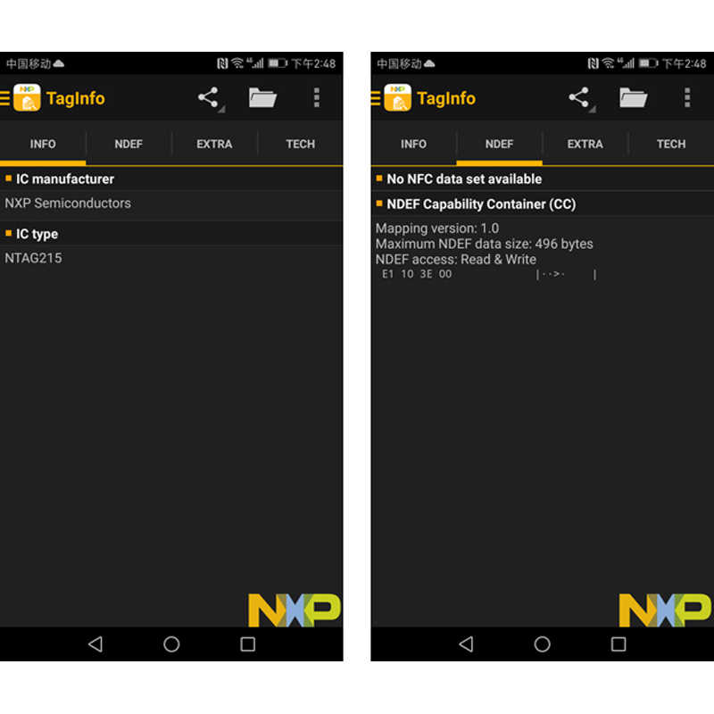 50pcs NFC Münze Geld Karte 215 Chip Für TagMo Forum Type2 NFC215 13,56 mHz für huawei teilen ios13 persönliche automatisierung verknüpfungen