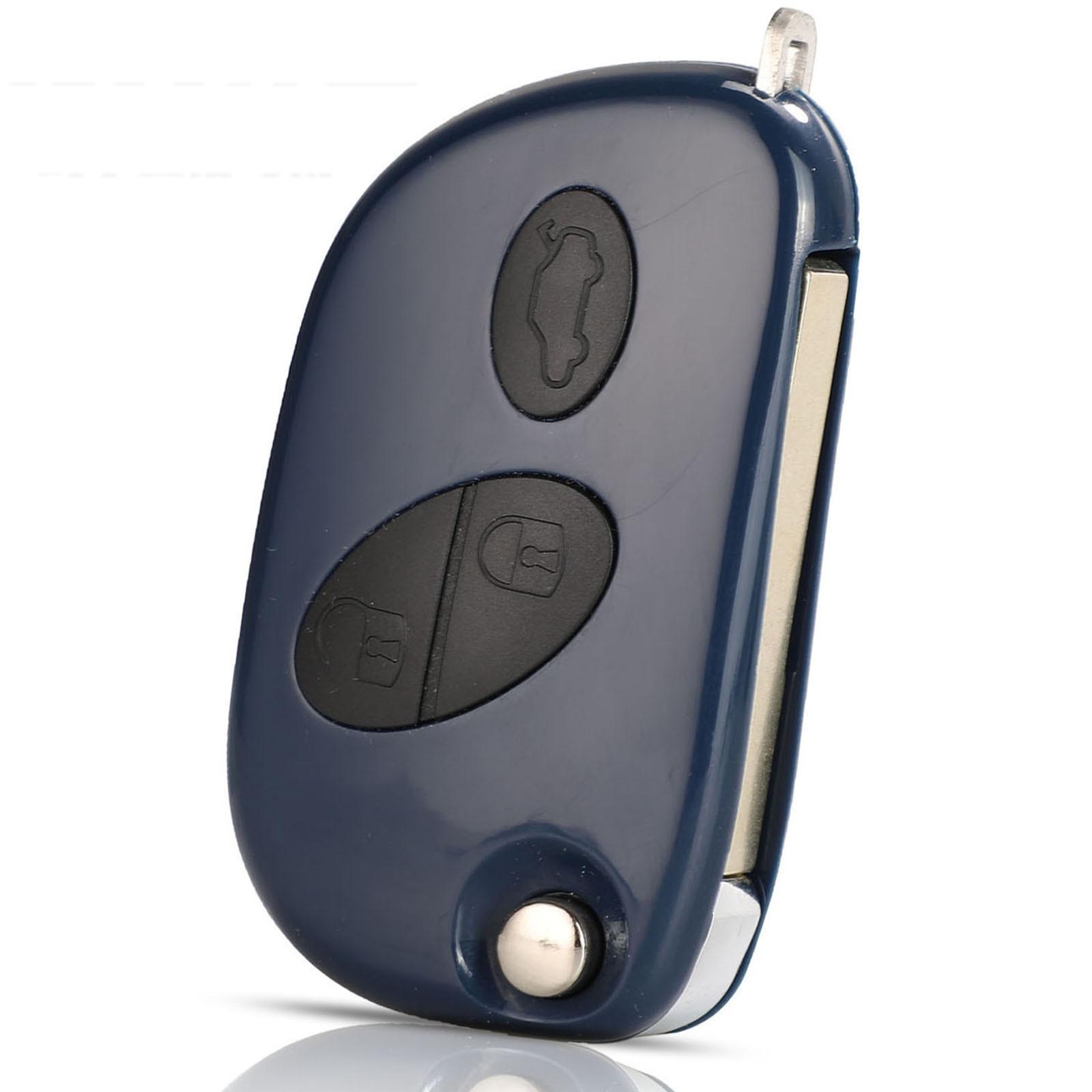 Kutery 3 кнопки Замена дистанционного ключа автомобиля чехол Fob для Maserati GRAN TURISMO QUATTROPORTE Uncut Blade