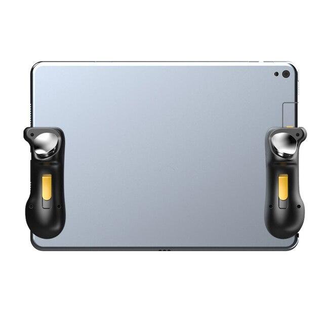 สำหรับ PUBG Trigger Controller ความจุ L1R1 AIM ปุ่ม Gamepad จอยสติ๊กสำหรับโทรศัพท์แท็บเล็ตเกม FPS Triger จอยสติ๊กอุปกรณ์เสริม