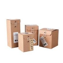 10Pcs/Lot 20 Sizes Kraft Corrugated Boxes Glass Packaging Gift Box Small Box Mailer Logistics Express Box Cardboard Carton