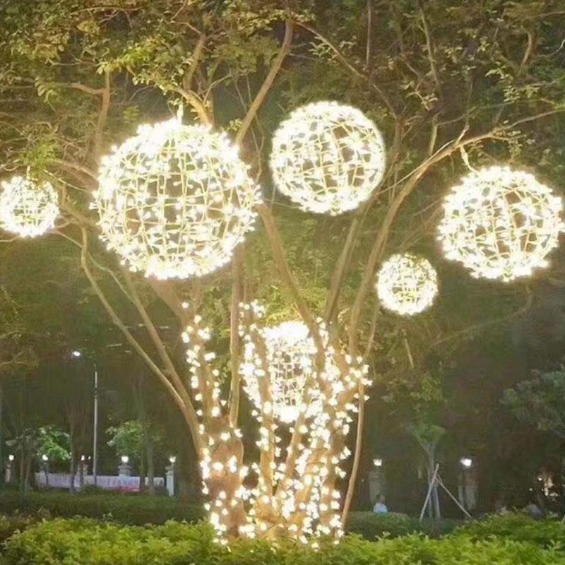 20cm Outdoor Led Ball Light Waterproof