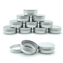 10pcs 30g Aluminum Tin Can, Lipstick Container, Empty Candle Can, Metal Container, Cream Can Box