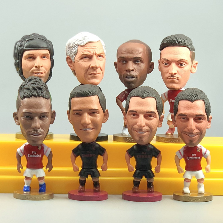 Arsenal Star Doll Cech Ozil Sanchez Wenger Aubameyang Doll Model Doll