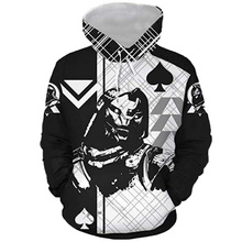 Men Autumn Caydee Hoodies Destinie 3D Print Men Long Sleeve Hooded Sweatshirts Hip Hop Streetwear Casual Pullovers Party Outfit