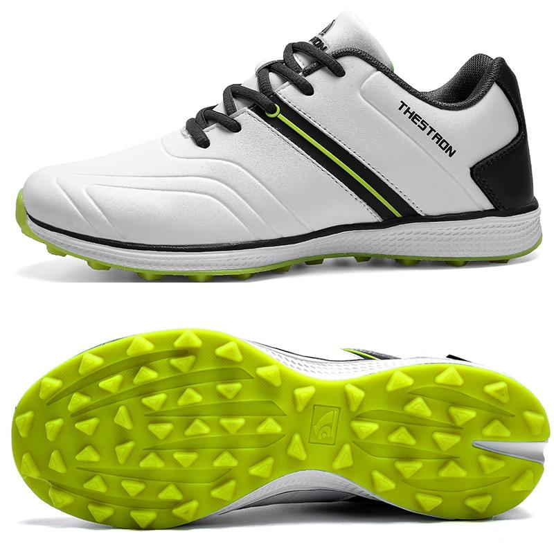 Waterproof Men Golf Shoes Professional Lightweight Golf Sneakers Outdoor Golf Sport Trainers Men Athletic Sneakers Brand