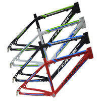 Ultra light mountain bike frame MTB frame 24X15 aluminum alloy frame