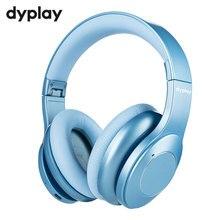 Híbrido ativo cancelamento de ruído bluetooth v5.0 fones de ouvido com microfone earpads sbc APT X 40mm motorista sem fio fone de ouvido com fio
