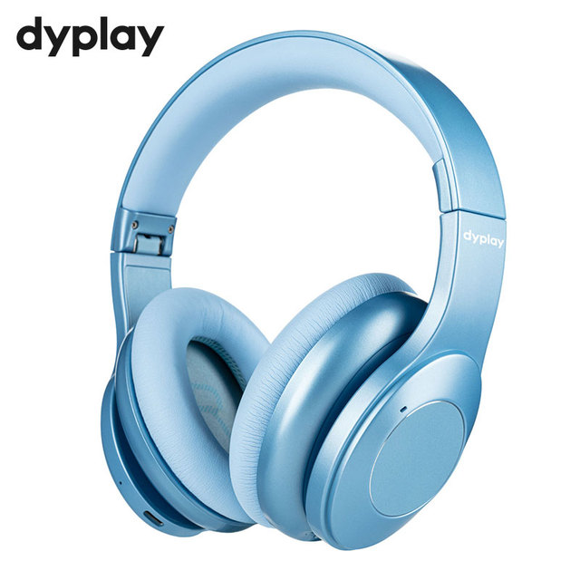 Hybrid Active Noise Cancelling Bluetooth V5.0 Headphones with Mic Earpads SBC APT X 40mm Driver Wireless Wired Headset