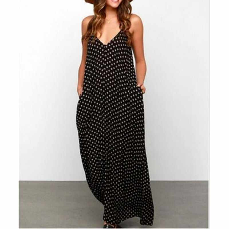 Hirigin Sexy Women Ladies Summer Boho Long Maxi Holiday Beach Dress Party Eveing Dress