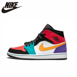 Nike Air Jordan 1 Original Men Basketball Shoes Comfortable Lightweight Outdoor Sports Sneakers #554724