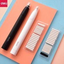 Deli gumka elektryczna rysunek ołówkiem mechaniczna śliczna ugniatana gumka do mazania dla dzieci szkolne materiały biurowe gumka do mazania