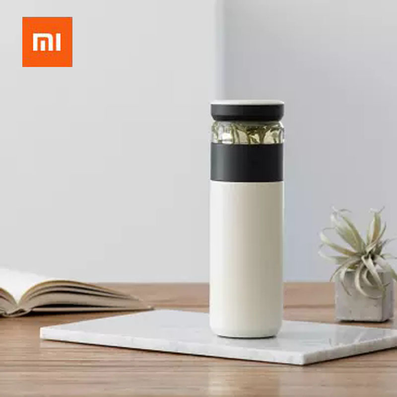 Original Xiaomi Fun Home Portable Water Vacuum Cup 520ml Outdoor Travel Tea water separation Bottle Warm 3 in 1 Office Bottle|Smart Remote Control|   - AliExpress