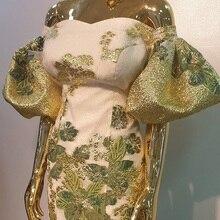 New Arrival brokatowa koronka nigeryjska koronka wysokiej jakości afrykański francuski tiul koronkowa tkanina dla nowożeńców materiały koronkowe APW2916B