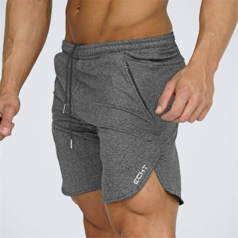 2020 Top Quality Men Casual Brand Gyms Fitness Shorts Men Professional Bodybuilding Short Pants size M-XXL