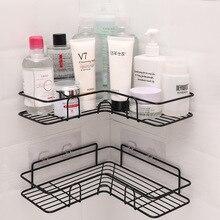 Rack-Holder Shower-Shelf Corner-Frame Bathroom-Accessories Shampoo Storage Kitchen-Punch