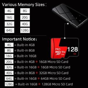 Image 2 - ICEICE MP3 Player with Bluetooth Touch Keys Built in Speaker 8GB 16GB 32GB 40GB HiFi Portable Walkman Radio FM Recording MP 3