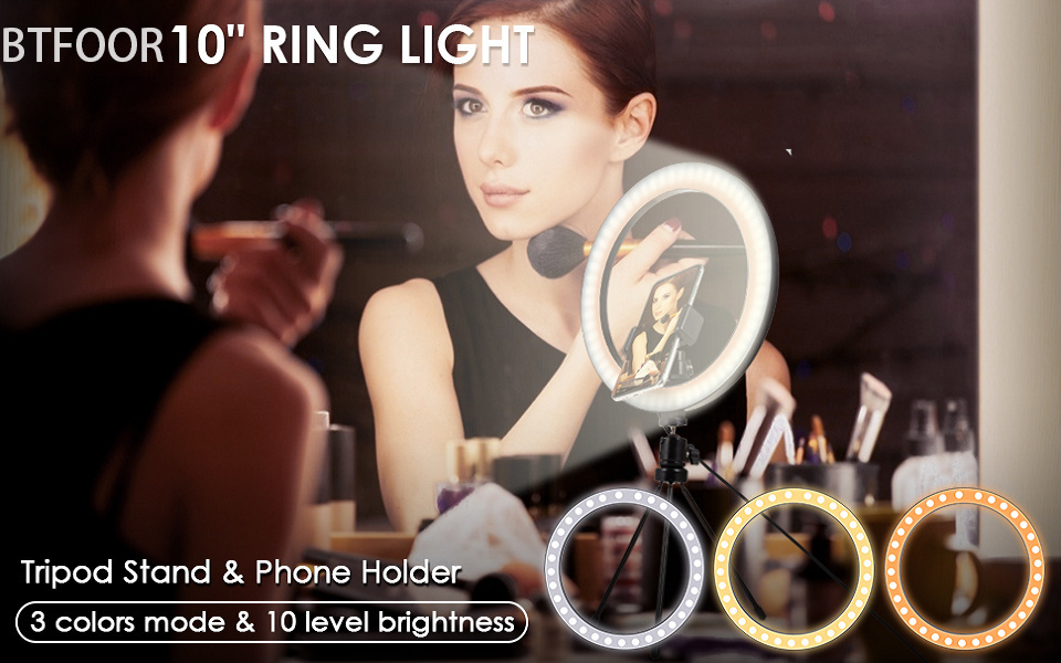 H356db7c4a3324a679f357b70f556eca6X - Selfie Ring Light Phone Remote Control Lamp26cm Photo Ring light Led  Photography Lighting With Tripod Stand Holder Youtube Video