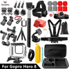 SnowHu for GoPro Hero 8 Black 45m Underwater Waterproof Case Diving Protective Cover Housing Mount for Go Pro 8 Accessory GS93