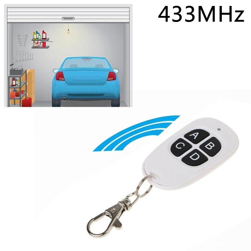 1* Door Electric Universal Remote Control Wireless Four Keys Copy Cloning Garage