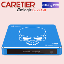 Beelink Box para Smart TV GT King Pro, Android 9.0, 4GB 64GB, Amlogic S922X H BT 4.1 2.4GHz + 5.8GHz Hi Fi, som sem perdas, em estoque