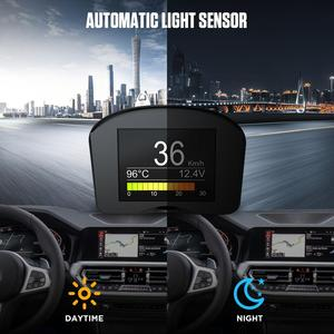 Image 3 - AUTOOL X50 Plus OBD2 Display Speedmeter Auto On board Computer Car OBD Smart Digital Voltage Speed Meter Temperature Gauge Alarm