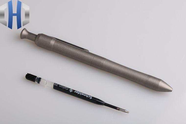 Alta qualidade de titânio tc4 tático caneta