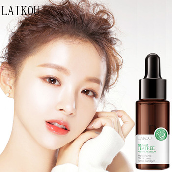 LAIKOU Tea Tree Acne Treatment Face Serum Whitening Moisturizing Oil-control Anti-Aging Essence Anti Acne Anti Scar Skin Care anti wrinkle anti aging moisturizing serum acne treatment whitening face ageless beauty skin care argan collagen elastin serum