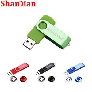 SHANDIAN new creative flash drive high Speed drive 64GB 32 GB 16 GB 4GB external storage Application USB Fashion gift