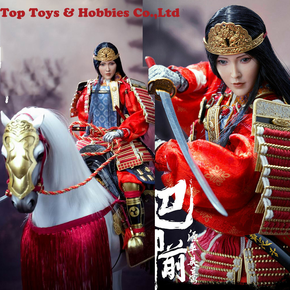For Collection EX024 A/B/C 1/6 Scale Japan General Warrior Genpei Heroine Tomoe Gozen Standard/Deluxe <font><b>Figure</b></font> <font><b>Horse</b></font> Model toy image