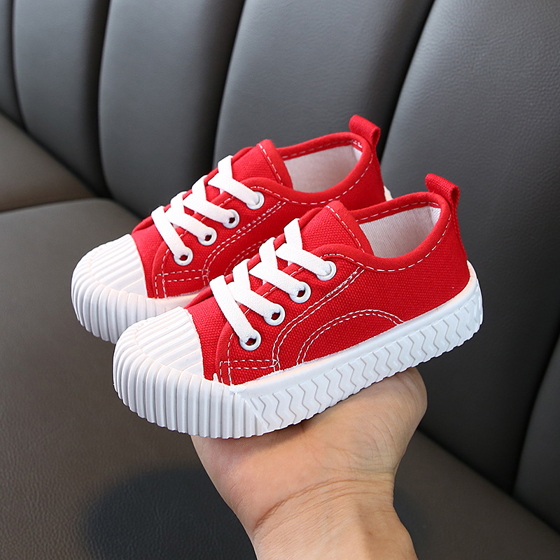 2020 New Toddler Baby Shoes Soft Boys Girls Canvas Shoes Casual Slip On Kid Walking Shoe Spring/Autumn Children Fashion Sneakers