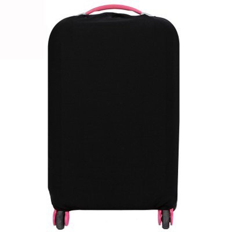 Travel Luggage Cover Solid Color Trolley Protective Case Suitcase Dust Cover For 18