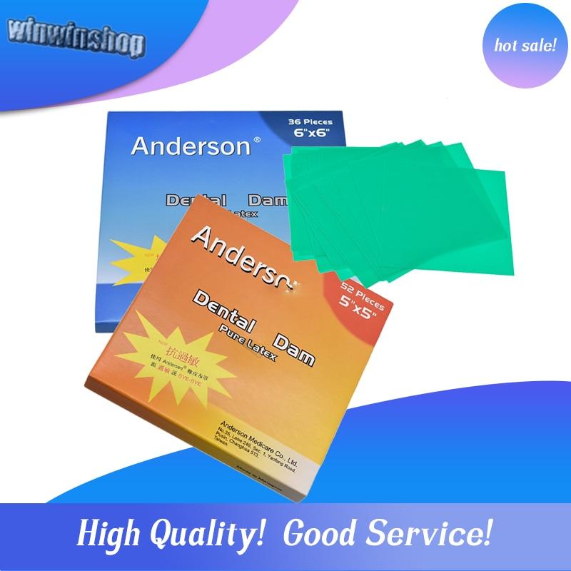 1 Box Of High Quality Pure Latex Rubber Dental Dam Anti-allergic Dam Small 52 Or Large Dental Dam 36