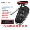 Для Audi A6 S6 Q7 2004-2015 8E, строковое управление с бесключевым приближением IYZ 3314 4F0837220R 4F0837220M 4F0837220T