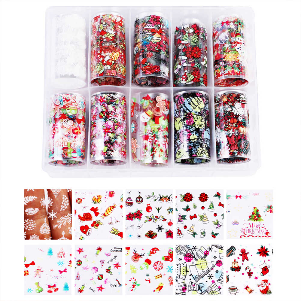 Nail Art Stickers Decals Manicure Lak Accessoires Polish Folie Nail Transfer Wraps voor Vrouwen Nail Art Decoraties