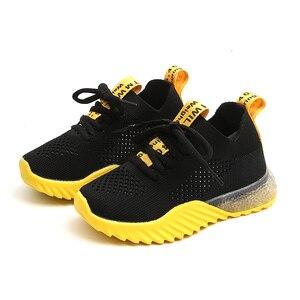 Image 1 - Chaussures enfants garçons décontracté enfants baskets pour garçons en cuir de mode Sport enfants baskets 2019 printemps automne enfants chaussures