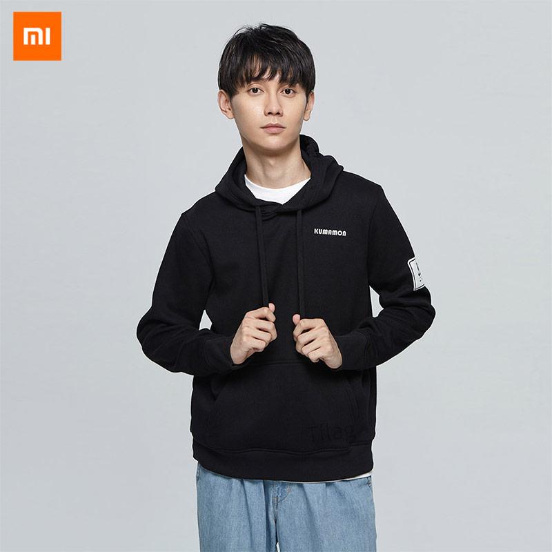 Xiaomi Mijia VL warm velvet Kumamoto bear sweater fashion sports outdoor classic hooded warm plus velvet men and women lovers|Smart Remote Control| |  - title=