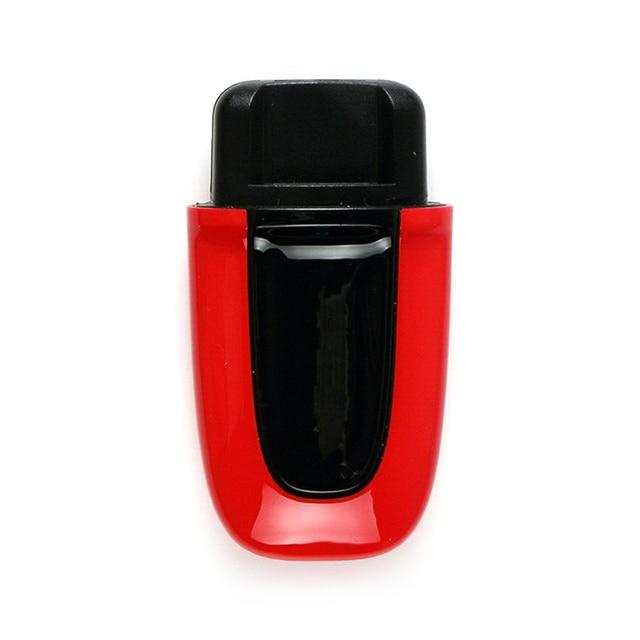 Dla Porsche Macan ABS jeden przycisk Start pasywny Keyless wprowadź obudowa kluczyka do samochodu odwróć zdalny składany klucz samochodowy obudowa kluczyka do samochodu obudowa pilota Shell